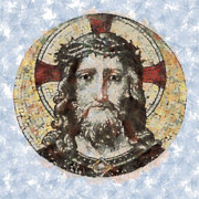 Christ Artwork Digital Art Prints - Jesus Christ Print by Michal Boubin