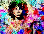 Lavers Framed Prints - Jim Morrison Framed Print by Bogdan Floridana Oana