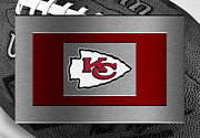 Offense Framed Prints - Kansas City Chiefs Framed Print by Joe Hamilton
