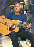 Country Music Keith Urban Posters - Keith Urban Poster by Don Olea