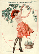 Nineteen-tens Art - La Vie Parisienne 1918 1910s France Leo by The Advertising Archives