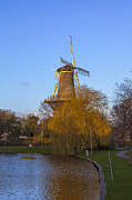 Windmill Framed Prints - Leiden Framed Print by Joana Kruse