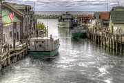 Shanty Prints - Leland River Print by Twenty Two North Photography