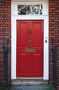 Entrance Door Framed Prints - London Doors Framed Print by ELITE IMAGE photography By Chad McDermott