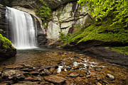 Waterfall Prints - Looking Glass Falls Print by Andrew Soundarajan