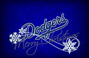 Los Angeles Dodgers Print by Joe Hamilton