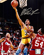 Nba Art - Magic Johnson Poster by Sanely Great