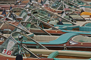 Portofino Italy Photo Prints - Magnificent Mahogany Print by Steven Lapkin