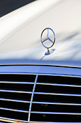 Mercedes Benz. Framed Prints - Mercedes-Benz Hood Ornament Framed Print by Jill Reger