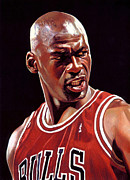 Michael Posters - Michael Jordan Poster Poster by Sanely Great