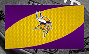 Vikings Photo Prints - Minnesota Vikings Print by Joe Hamilton