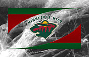 Hockey Photos - Minnesota Wild by Joe Hamilton