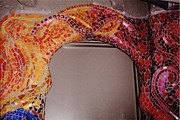 Mosaic Ceramics - Mosaic Doorway by Charles Lucas