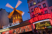French Signs Photos - Moulin Rouge by Brian Jannsen