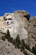 Rocky Statue Photos - Mount Rushmore by Frank Romeo