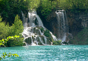 National  Pyrography Framed Prints - National Park Plitvice Framed Print by Dr sc Srecko Bozicevic