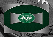 Jets Photo Metal Prints - New York Jets Metal Print by Joe Hamilton