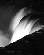 Time Off Framed Prints - Niagara Falls New York in Black and White Framed Print by ELITE IMAGE photography By Chad McDermott