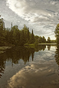 Northwoods Photos - North Woods Lake by Birgit Tyrrell