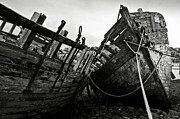 Spoiled Prints - Old abandoned ships Print by RicardMN Photography