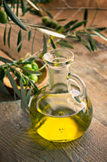 Mythja Photos - Olive oil by Mythja  Photography