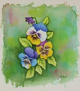 Katherine Young-Beck - Pansies
