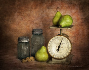 Vicki McLead - Pears and Scale