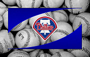 Phillies  Posters - Philadelphia Phillies Poster by Joe Hamilton