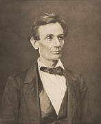 Portraits Photos - President Abraham Lincoln by War Is Hell Store
