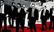 Reservoir Painting Acrylic Prints - Reservoir Dogs Acrylic Print by Luis Ludzska