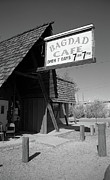 Baghdad Posters Photo Framed Prints - Route 66 - Bagdad Cafe Framed Print by Frank Romeo