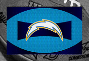 Offense Framed Prints - San Diego Chargers Framed Print by Joe Hamilton