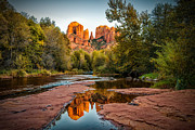 Earth Tone Prints - Sedona In The Fall Series Print by Josh Whalen