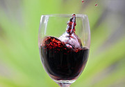 Merlot Photos - Spill the Wine by Damian Morphou