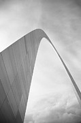 Murals Prints - St. Louis - Gateway Arch Print by Frank Romeo