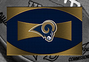 Offense Framed Prints - St Louis Rams Framed Print by Joe Hamilton