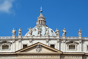 Roma Photos - St Peter in Vatican by George Atsametakis