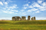 World Heritage Sites Prints - Stonehenge Print by Joana Kruse