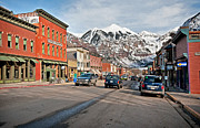San Jaun Framed Prints - Telluride Framed Print by Mark Weber