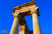 Archeological Sight Prints - Temple of Apollo Hylates Print by Augusta Stylianou