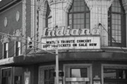 Indiana Photography Framed Prints - Terre Haute - Indiana Theater Framed Print by Frank Romeo