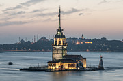 Turkey Metal Prints - The Maidens Tower Metal Print by Ayhan Altun