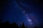 Wilderness Area Posters - The Milky Way over Cranberry Wilderness Poster by Thomas R Fletcher