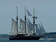 Tall Ships Prints - The Tall Ships Print by Marie Sager