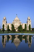 Kolkata Prints - The Victoria Memorial in Calcutta India Print by Robert Preston