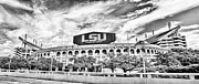 Fighting Tigers Art - Tiger Stadium Panorama by Scott Pellegrin