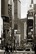 Streets Metal Prints - Times Square Metal Print by RicardMN Photography