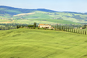 Farm House Photos - Tuscany - Val dOrcia by Joana Kruse