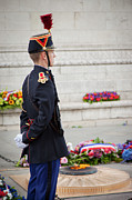 Grave Photos - Unknown Soldier by Brian Jannsen