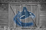 Vancouver Canucks Framed Prints - Vancouver Canucks Framed Print by Joe Hamilton